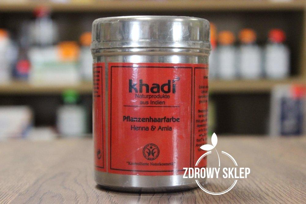 Modish Khadi Kasztanowo-Miedziany Brąz naturalna farba ziołowa do włosów WJ81