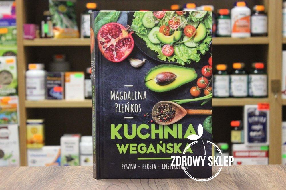 Książka Kuchnia Wegańska Magdalena Pieńkos
