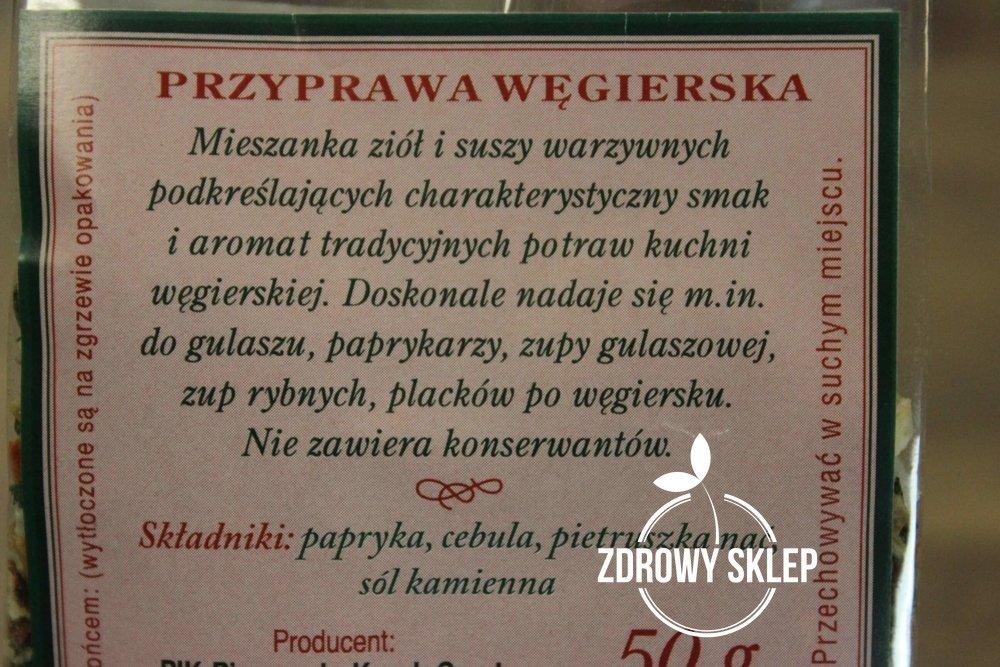 Visana Przyprawa Węgierska Bez Konserwantów 50g