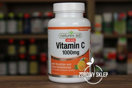 Natures Aid Witamina C 1000mg 90 tabletek